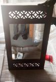 Review Cambrey Side Stripped Mirror With Frame (Honey Finish)